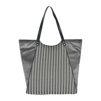 Fhb4 Designer Shopping Bags LE - Grey Multi