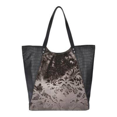 Fhb3 Designer Shopping Bags LE - Brown / Black