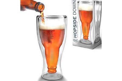 Hopside Down Drink Glass