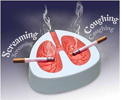 Coughing Ashtray