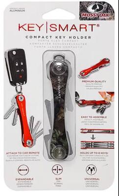 KeySmart - Compact Key Holder and Keychain Organizer (up to 20 Keys) - Mossy Oak™