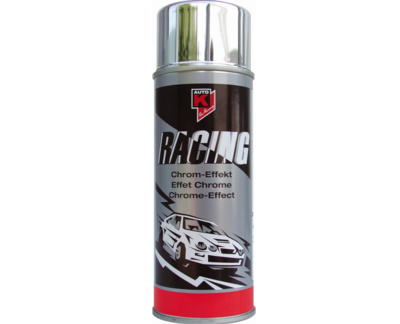 AUTO K SPRAY CAN CHROME-EFFECT 400 ML PAINT CAR MOTORBIKE COMASOUND KARTEL