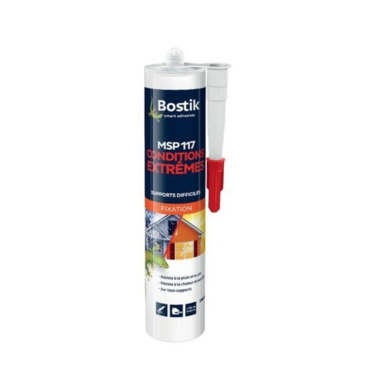 BOSTIK MSP177 CONDITIONS EXTREMES SMART ADHESIVES 290 ML CARTOUCHE 3549210030256 DIY BRICOLAGE COMASOUND KARTEL