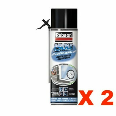 RUBSON MOUSSE EXPANSIVE ISOLE PORTES & FENETRES ISOLATION HOME PRO DIY BRICOLAGE LOT PACK SET 3178040695870 COMASOUND KARTEL