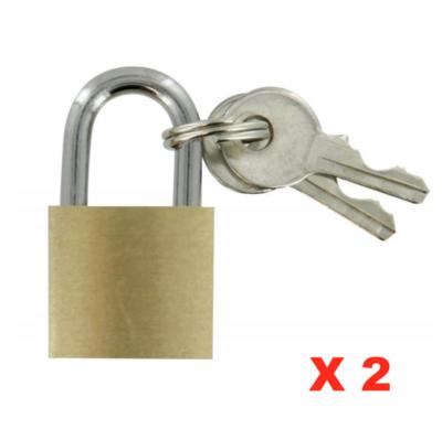 MASTER TOOLS CADENAS DE SECURITE LAITON  20mm 3600073505074 SECURITE BAGAGE BAG SAC LOT PACK COMASOUND KARTEL