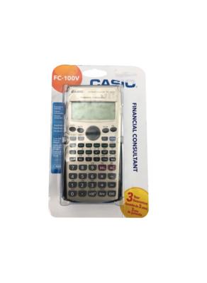 CASIO FC_100V FINANCIAL CONSULTANT COMMERCE SHOP STORE COMPTABILITE CALCULATRICE PRO 4971850172147 COMASOUND KARTEL CSK
