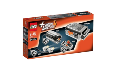LEGO + POWER FUNCTIONS 8293 LIGHTS & MOTOR JOUET JEU JEUX CONSTRUCTION ENFANT NOEL NEUF 5702015146227 COMASOUND KARTEL ITEM 6066380