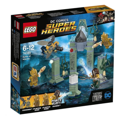 LEGO COMICS SUPER HEROES BATTLE OF ATLANTIS JOUET JEU JEUX CONSTRUCTION ENFANT NOEL NEUF 5702015868709 COMASOUND KARTEL 75085 ITEM 6175506