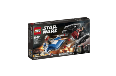 LEGO  STAR WARS  A-WING VS TIE SILENCER MICROFIGHTERS  75196 JOUET JEU JEUX ITEM 6212549 CONSTRUCTION ENFANT NOEL NEUF 5702016109900 COMASOUND KARTEL