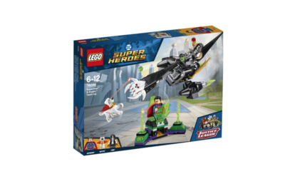 XXX LEGO COMICS SUPER HEROES SUPERMAN & KRYPTO TEAM UP  JOUET JEU JEUX CONSTRUCTION ENFANT NOEL NEUF 5702016110463 COMASOUND KARTEL 76096 ITEM 6212666