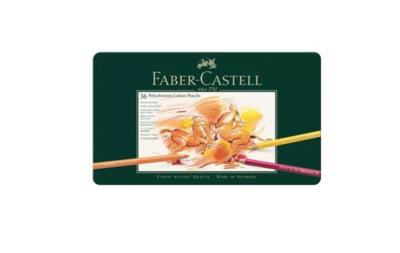 FABER CASTELL X 36 POLYCHROMOS COLOUR PENCILS CRAYON COULEUR ART ARTISTE DESSIN PRO COMASOUND KARTEL 4005401100362 CSK ONLINE