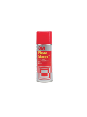 3M PHOTO MOUNT COLLE PHOTO TRAVAUX  SPRAY AEROSOL BOMBE 400 ML ART SCHOOL PRO DECO 5900422003427 COMASOUND KARTEL CSK ONLINE