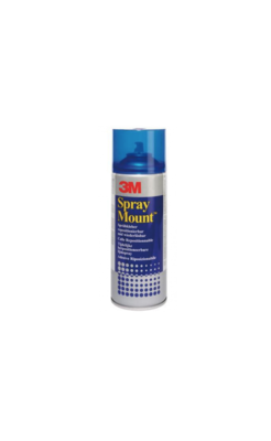 3M SPRAY MOUNT COLLE PHOTO TRAVAUX  REPOSITIONNABLE SPRAY AEROSOL BOMBE 400 ML ART SCHOOL PRO DECO 5900422002710 COMASOUND KARTEL CSK ONLINE