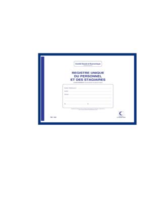 ELVE REGISTRE UNIQUE DU PERSONNEL ET DES STAGIAIRES   3416790014641 STORE SHOP OFFICE ORDER COMASOUND KARTEL CSK ONLINE