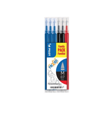 PILOT FRIXION BALL FAMILY M 0.7  SCHOOL RECHARGE STYLO PEN 4902505525636 OFFICE SHOP WRITING LOT SET PACK COMASOUND KARTEL CSK ONLINE