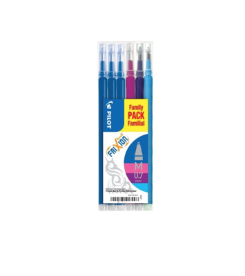 PILOT FRIXION BALL FAMILY M 0.7  SCHOOL RECHARGE STYLO PEN 4902505525650 OFFICE SHOP WRITING LOT SET PACK COMASOUND KARTEL CSK ONLINE