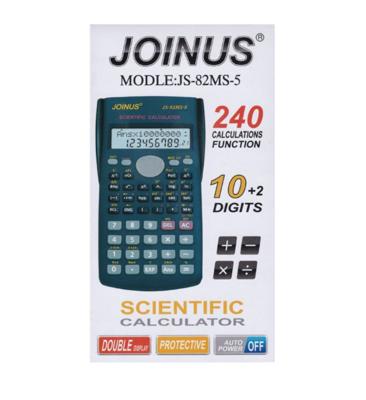 JOINUS JS-82MS-A CALCULATRICE SCIENTIFIQUE ECOLE CALCUL SHOP BUREAU ( FX-82MS ) PRO 9022268 COMASOUND KARTEL CSK ONLINE