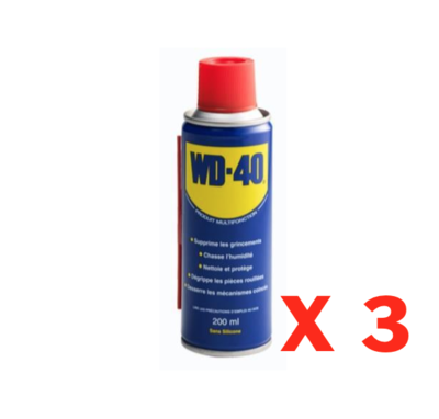 WD-40 DEGRIPPANT LOT SET PACK ANTI HUMIDITE PROTECTION BATEAU TUNING 200 ML CAR AUTO MOTO TRUCK QUAD ART DIY BRICOLAGE PRO 5032227330023 COMASOUND KARTEL CSK ONLINE