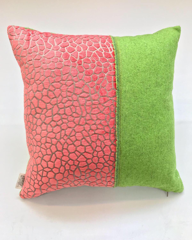 "Coral & Capisoli Selvedge"" Scatter cushion"