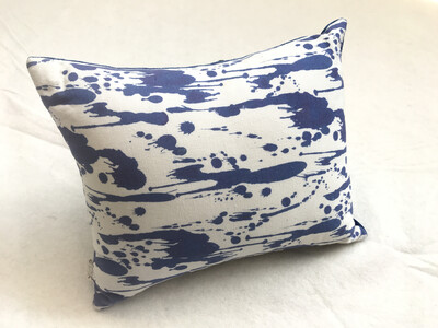 Inksplat Lozenge Scatter Cushion