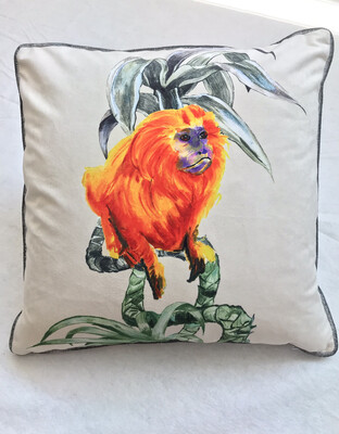 Mega monkey cushion