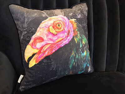 Turkey Vulture Scatter Cushion