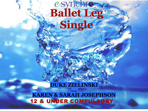 Ballet Leg Single 12 & U Compulsory Plus Slide Show Movie