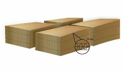 LASTRA DI CARTONE  per ECOPALLET  80x60cm X 10mm • 320 pezzi