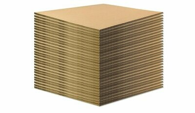 BASE IN CARTONE per ECOPALLET  80x60cm x 14mm 50 pezzi