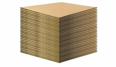 BASE IN CARTONE per ECOPALLET 40x60 cm 14mm 50 pezzi
