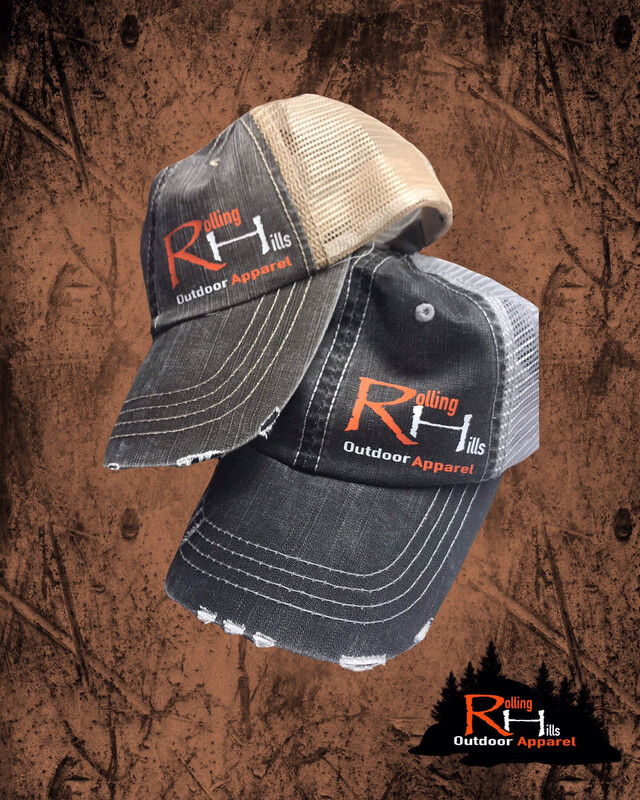 Rolling Hills Outdoor Apparel Logo Hat