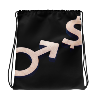 Callboy Sign Drawstring bag