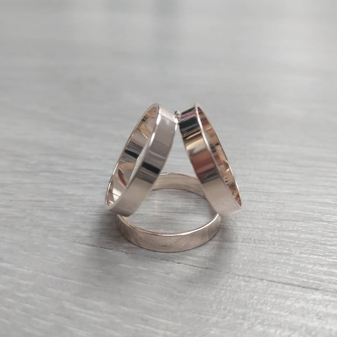 Scarf Ring - Gold