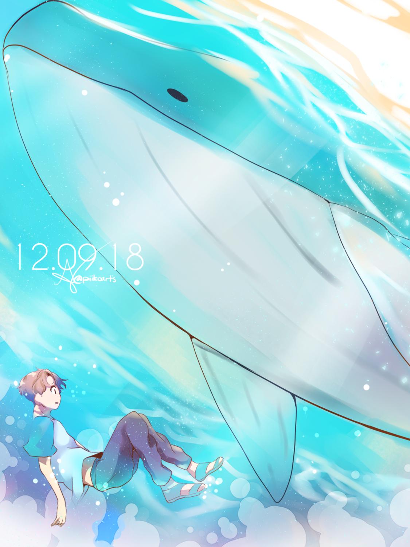 RM Whale (5x7) Print
