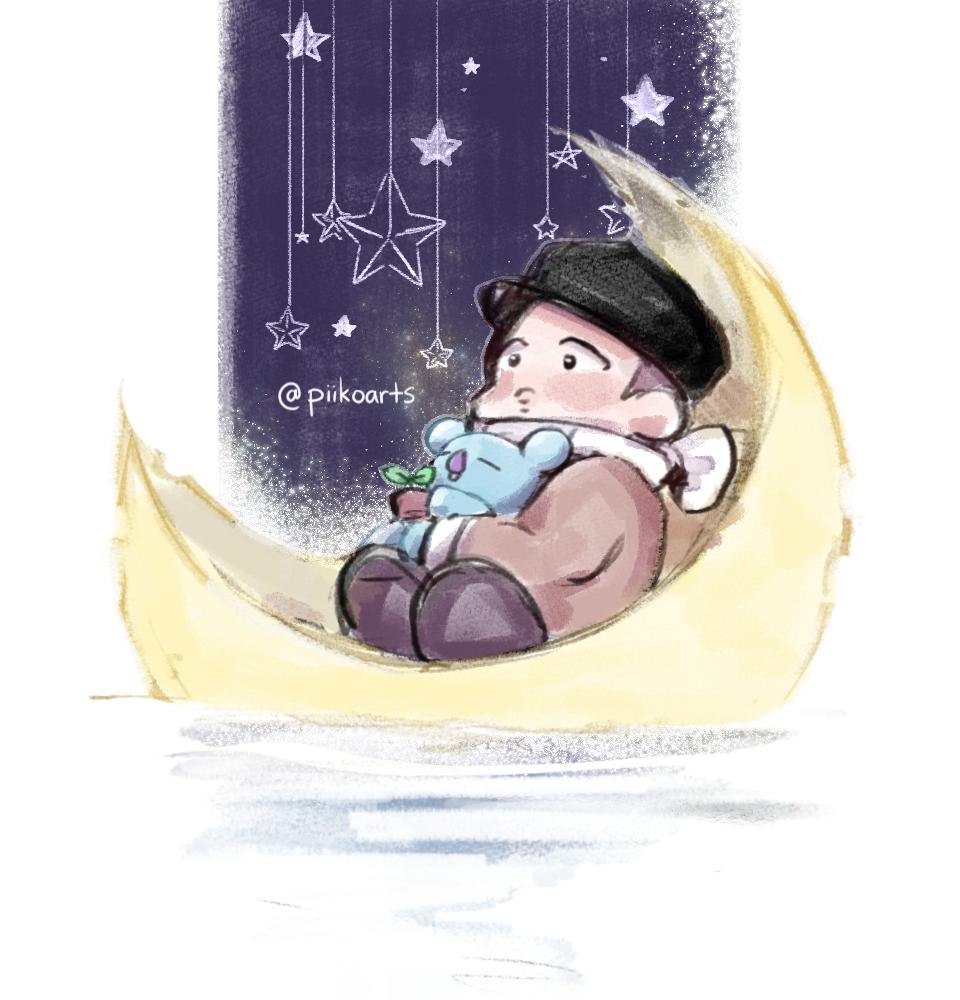Chibi RM Star Boat Print