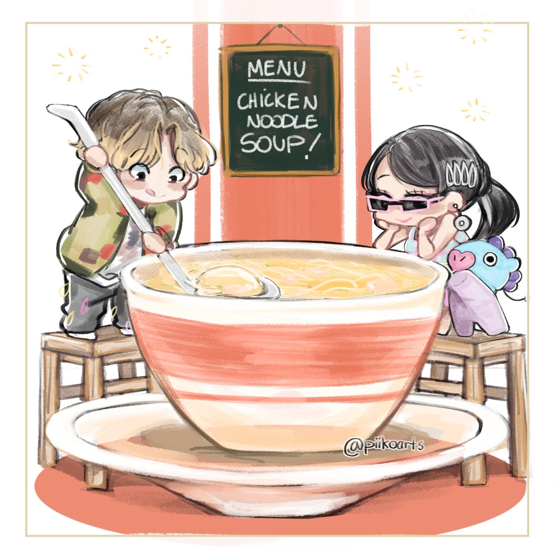 Chicken Noodle Soup Print
