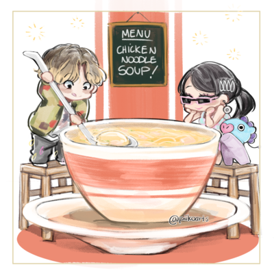 Chicken Noodle Soup Print