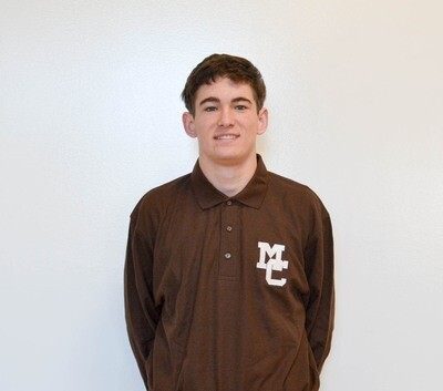 Brown Cotton Polo Long Sleeve