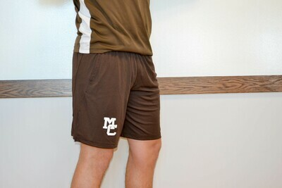 Brown Nike Dri-Fit Shorts