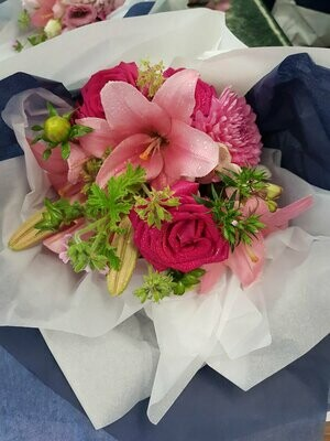 Bouquets, Gift Wrapped