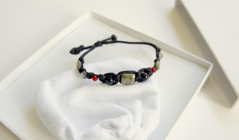 Protection from Negativity Bracelet Carnelian