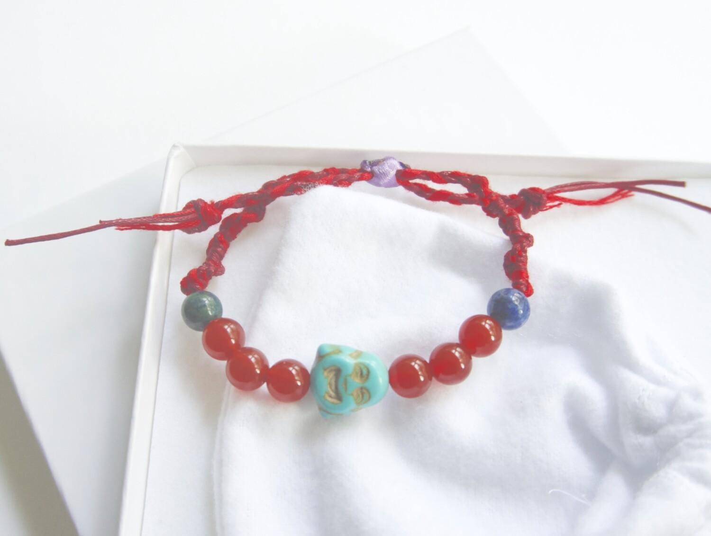Budda Bracelet Carnelian