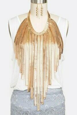 Fabulous Multi Layered Bib Necklace