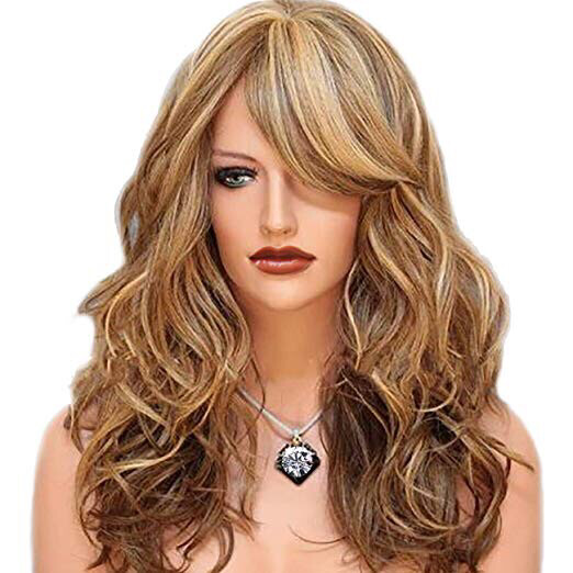 24' Blonde Layered Synthetic Wig