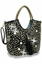 Large Bling Jeweled Purse