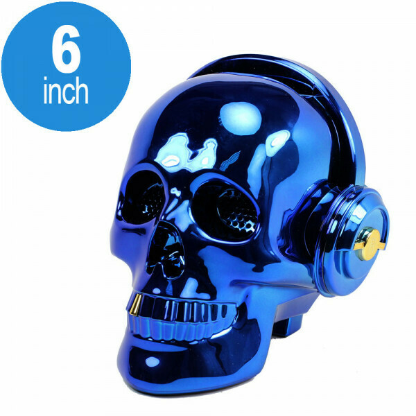 Bluetooth Skull Speaker
