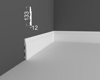 Плинтус напольный DeArtio под покраску P23.133.12