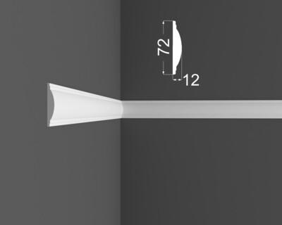Молдинг DeArtio под покраску М 10.72.12