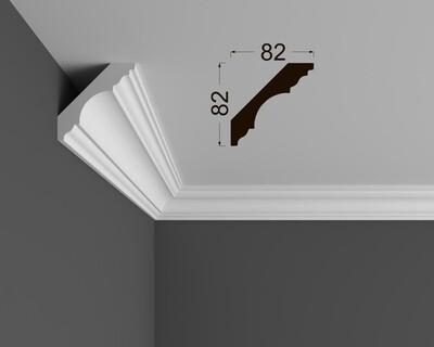 Потолочный плинтус под покраску К 5.115.22