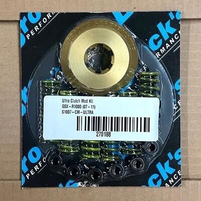 Brock's Ultra Light Billet Clutch Mod Kit GSX-R1000 (07-11)